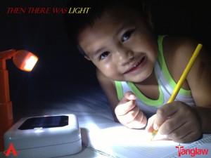 Tanglaw Henyo Solar Light Study at Night